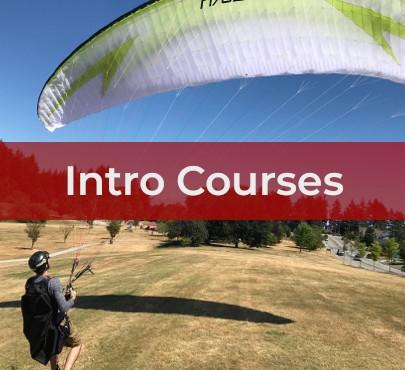 paragliding student