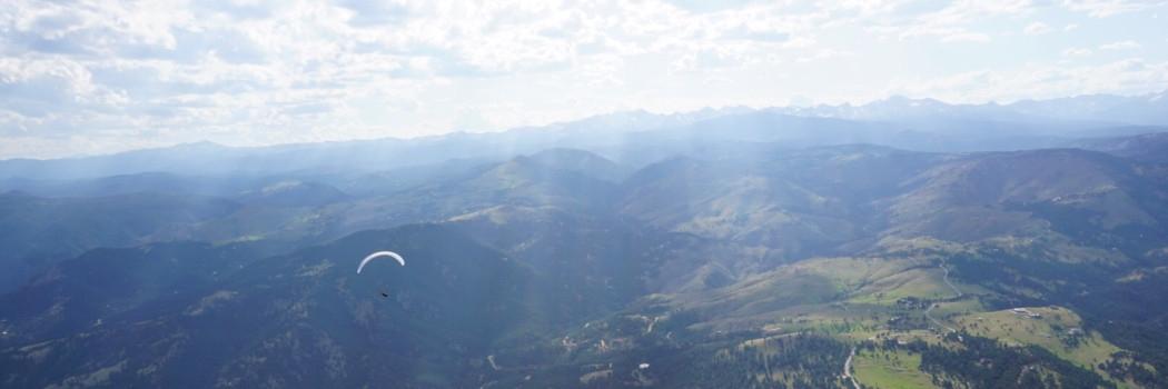 tandem paragliding in boulder colorado